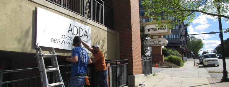 ADDA'S new office at the gateway to downtown Athens